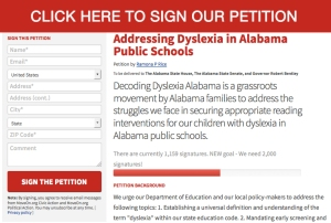 Decoding Dyslexia Alabama Educational Reform For Dyslexia In